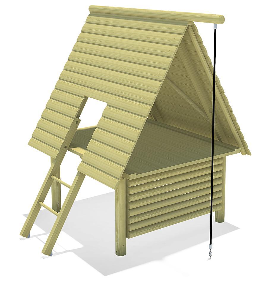 Seaside a-framed House