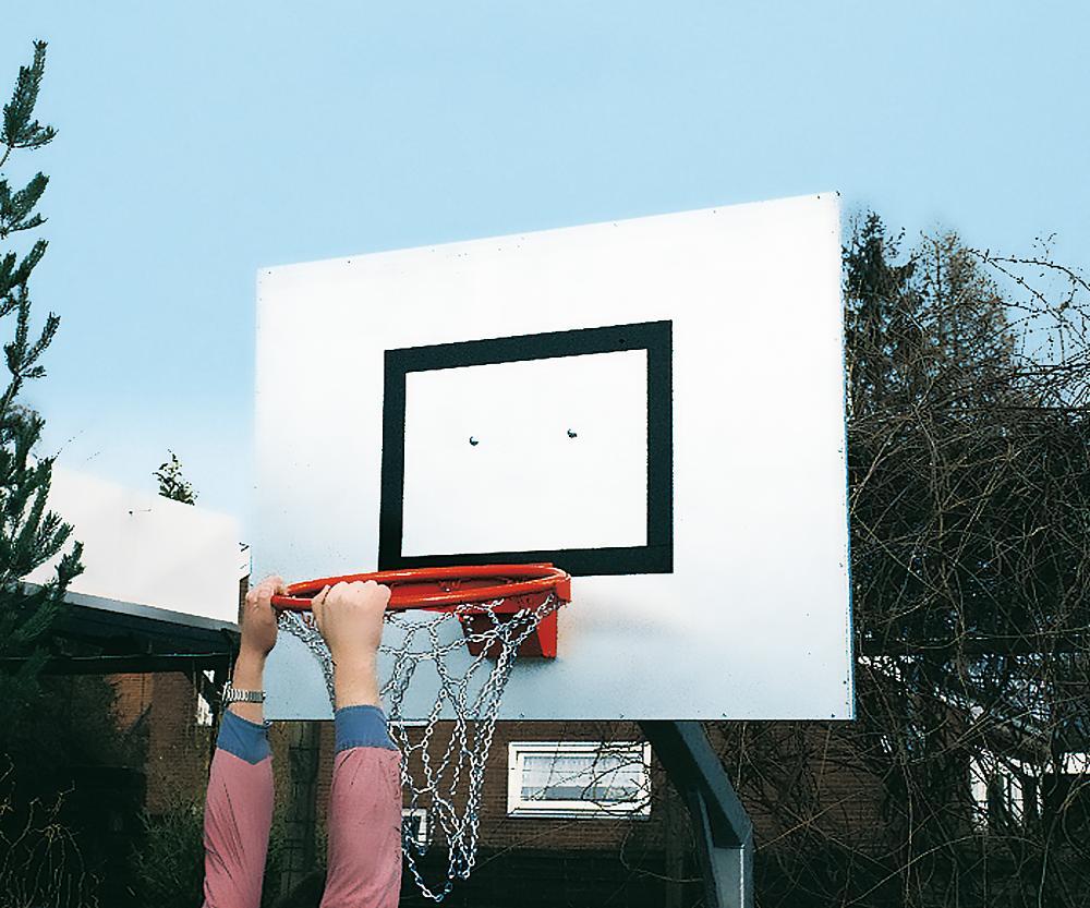 Basketball hoop foldable
