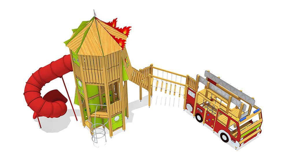fire brigade combination, solo
