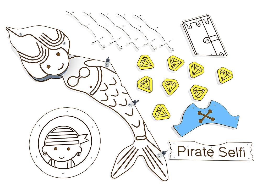 decoration Pirates for Primo Victoria