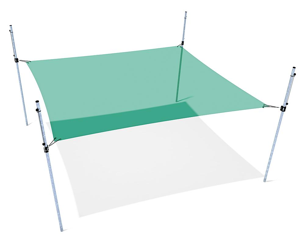 Awning height-adjustable 4x4 m
