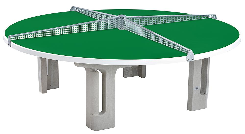 Tables tennis table, round GFRP