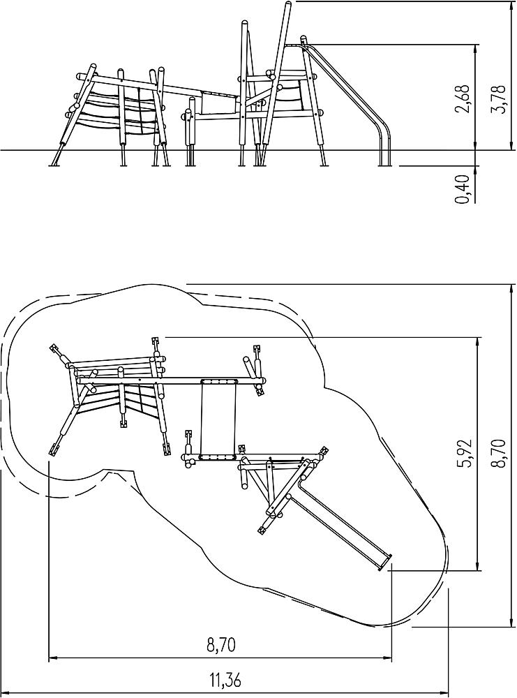 climbing structure Riku