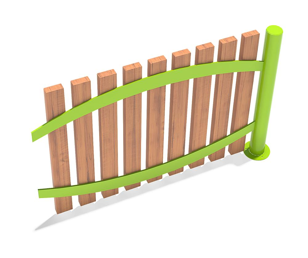 Pale fence
