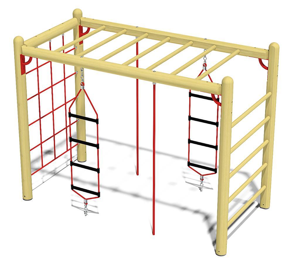 climbing frame 210