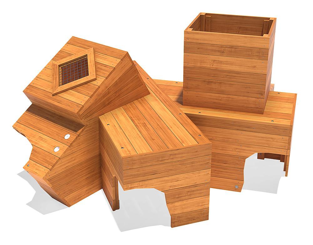 play unit Crazy Crates
