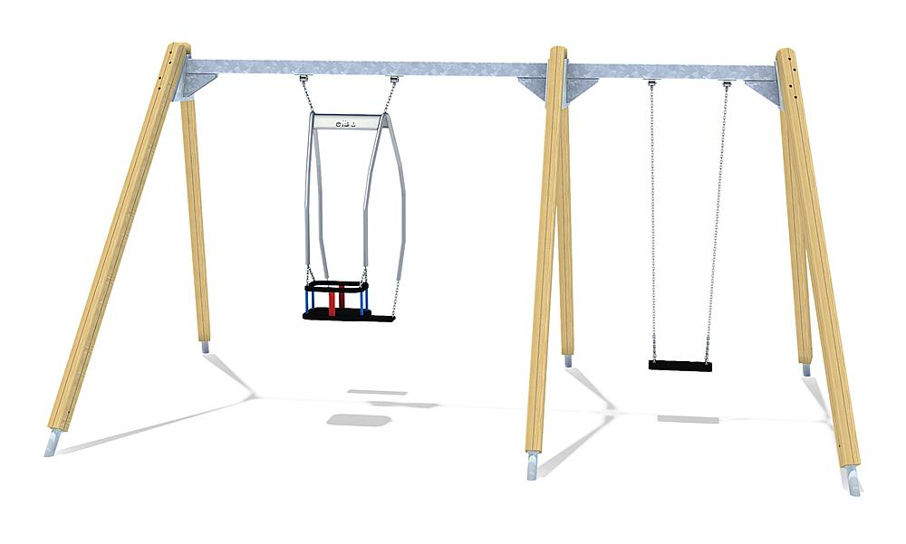 triple swing frame Kondor