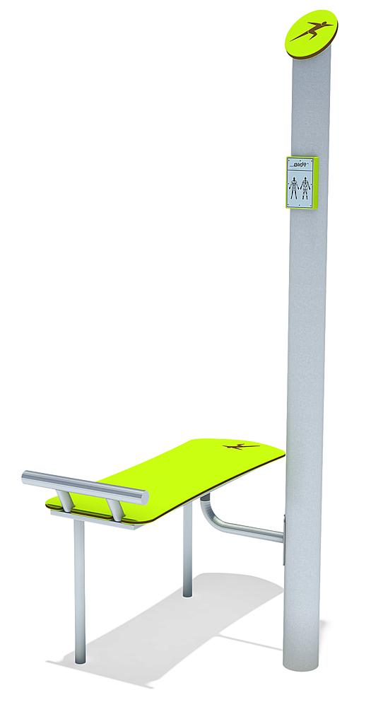 active-station sit-up bench