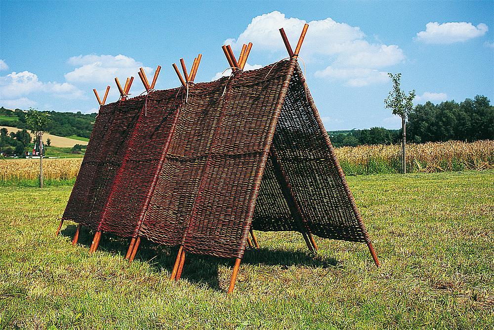 Wicker pyramid, 2 pcs.