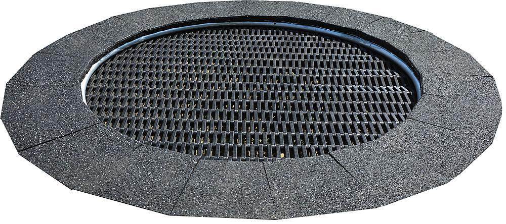 Floor trampoline Jump round Ø 170 cm