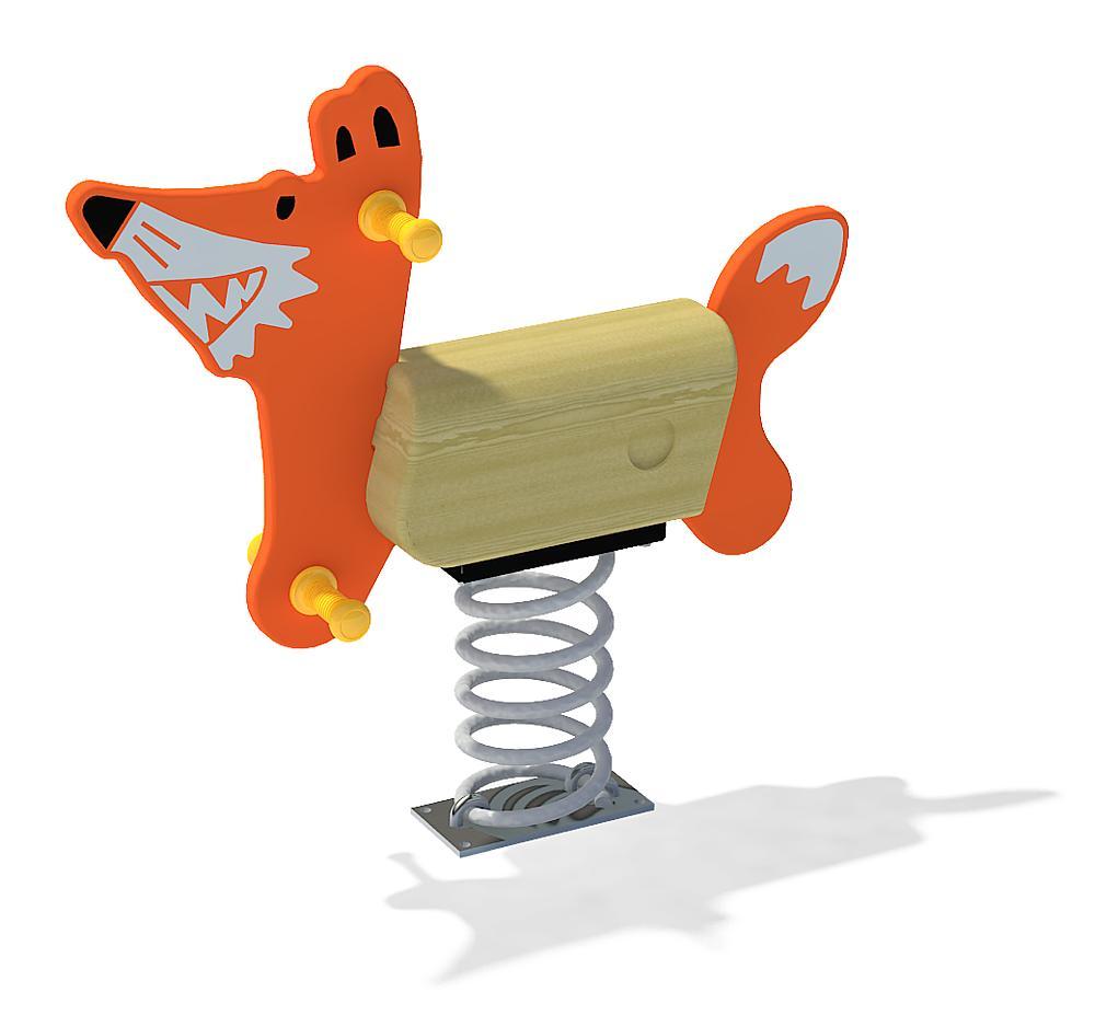 Spring rocker Fox