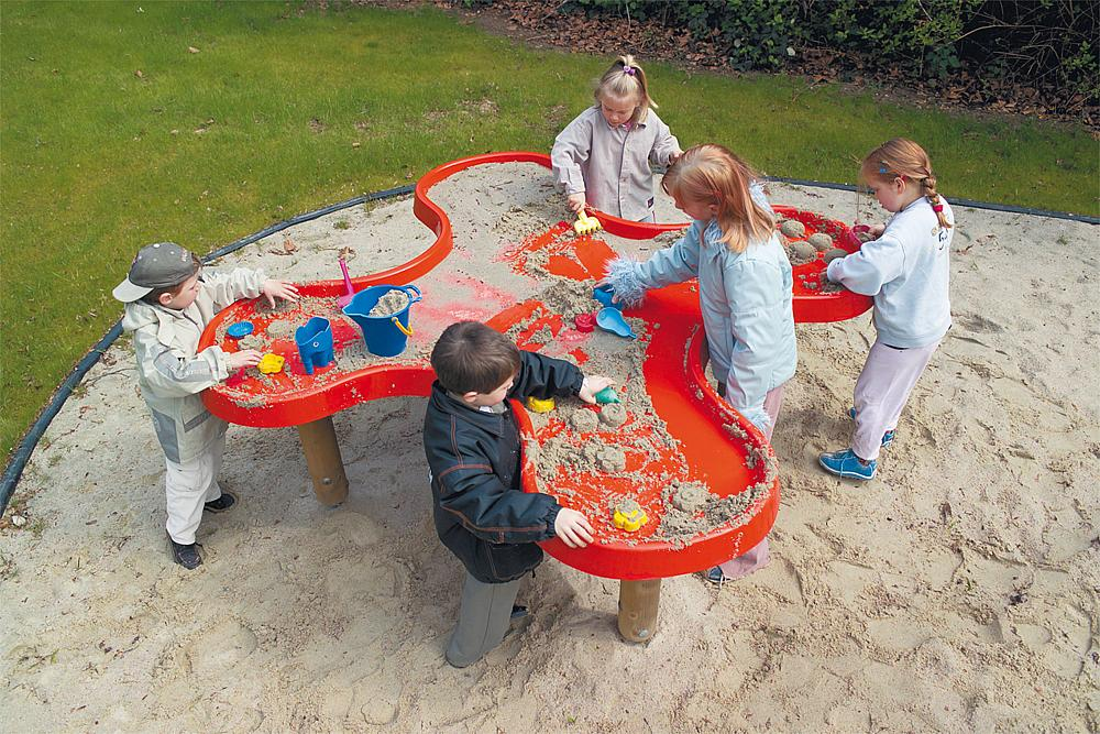 Mud play table Shamrock