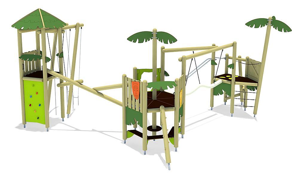 play unit Isla de Patos, solo