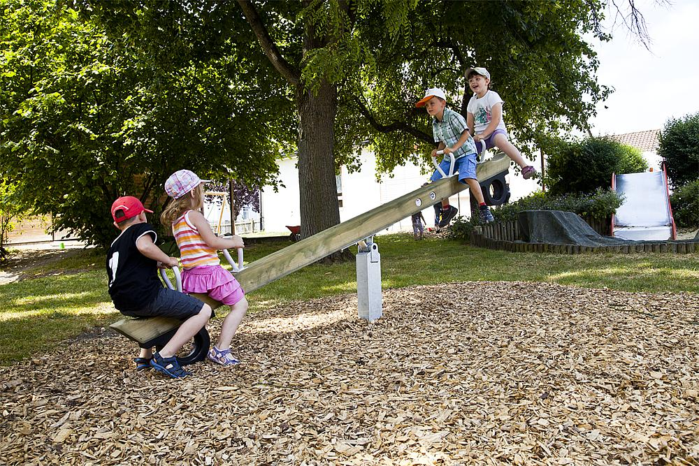 four-seater seesaw