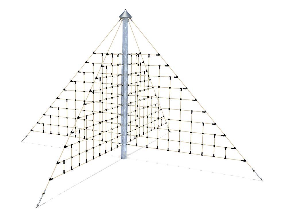 Rope net X pyramid Maxi