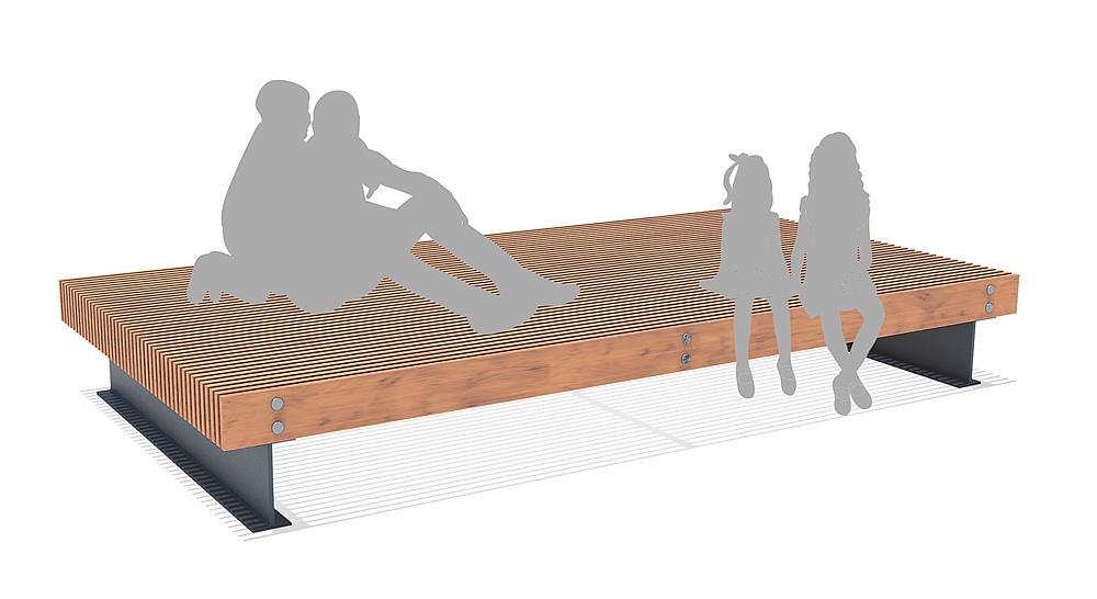 Seat platform Prunus