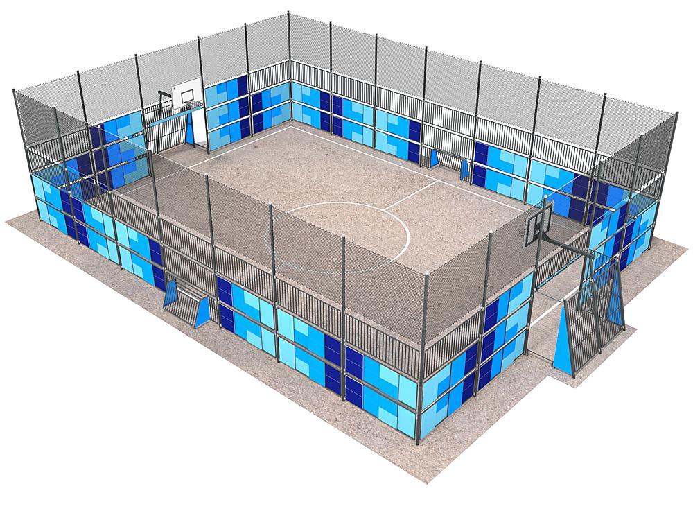 Multiple sports field City