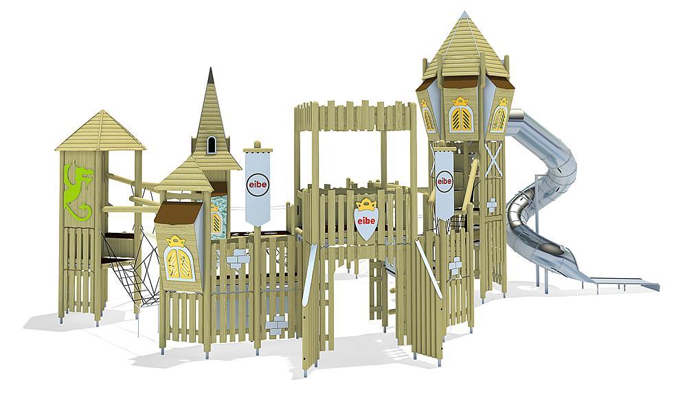 play unit Kings Castle, solo