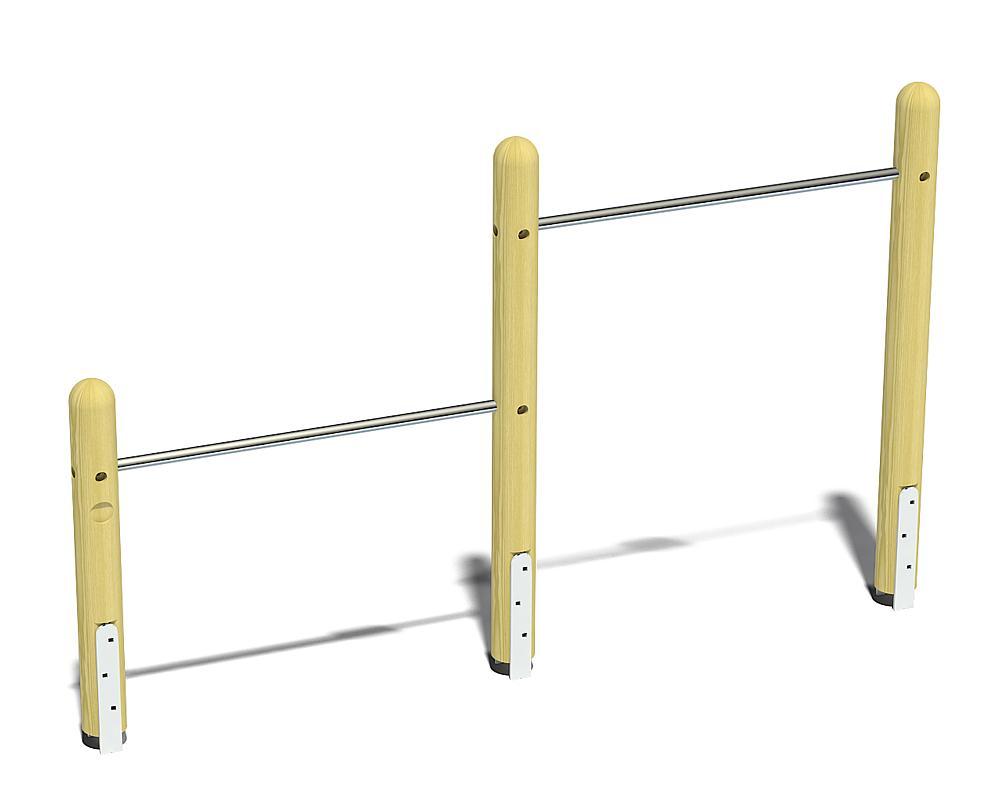 two-level horizontal bars