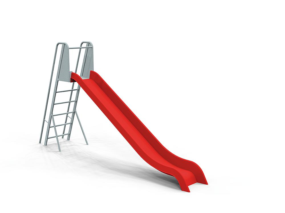 Slide with ladder ph 145 cm, GFRP