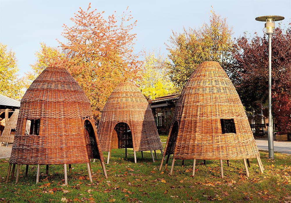 Wicker hut 140