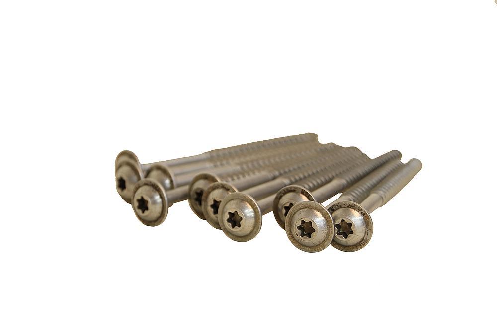 Roundheaded-spax, 10pcs set, 8x80 VA