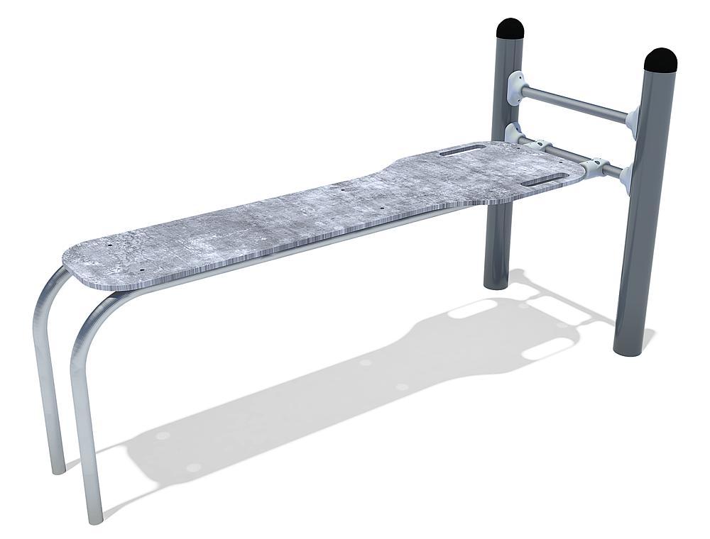 Calisthenics sit-up bench