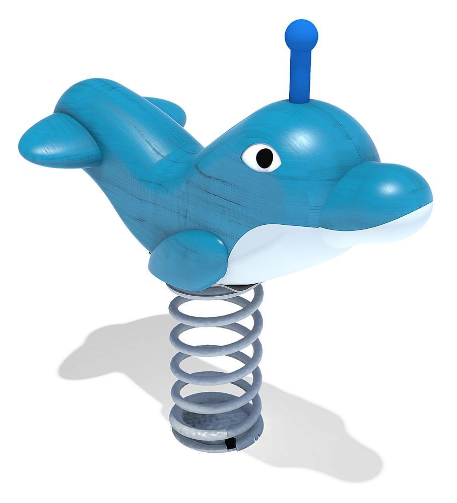 spring rocker Dolphin