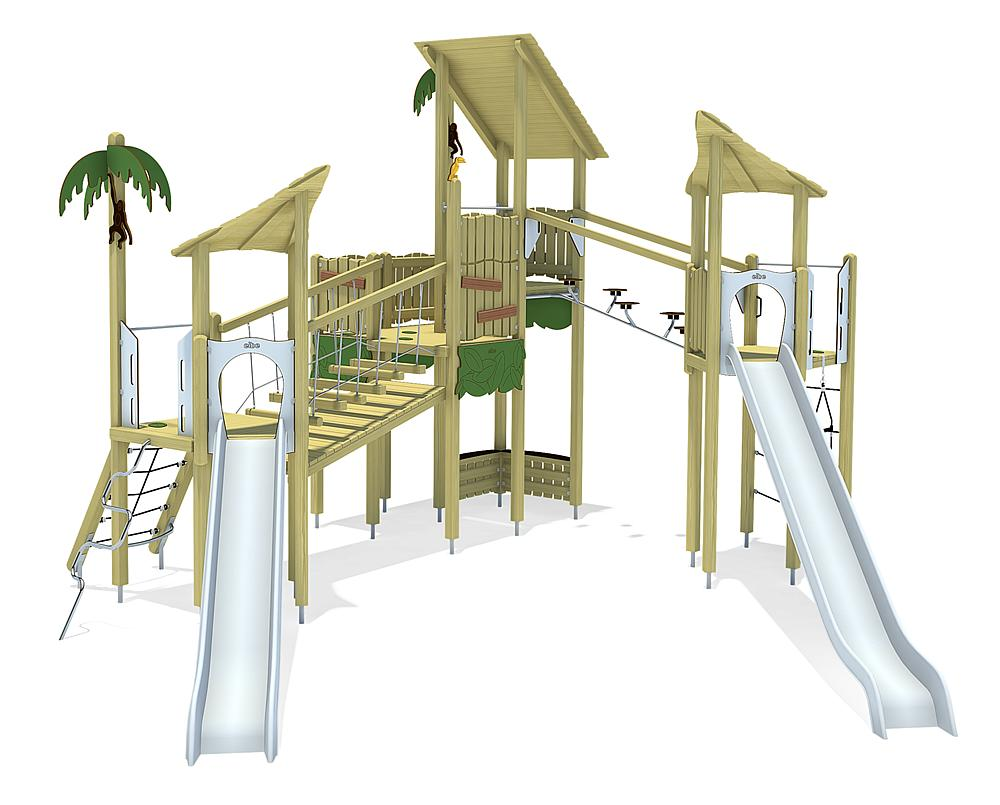 jungle play unit Guayana, solo