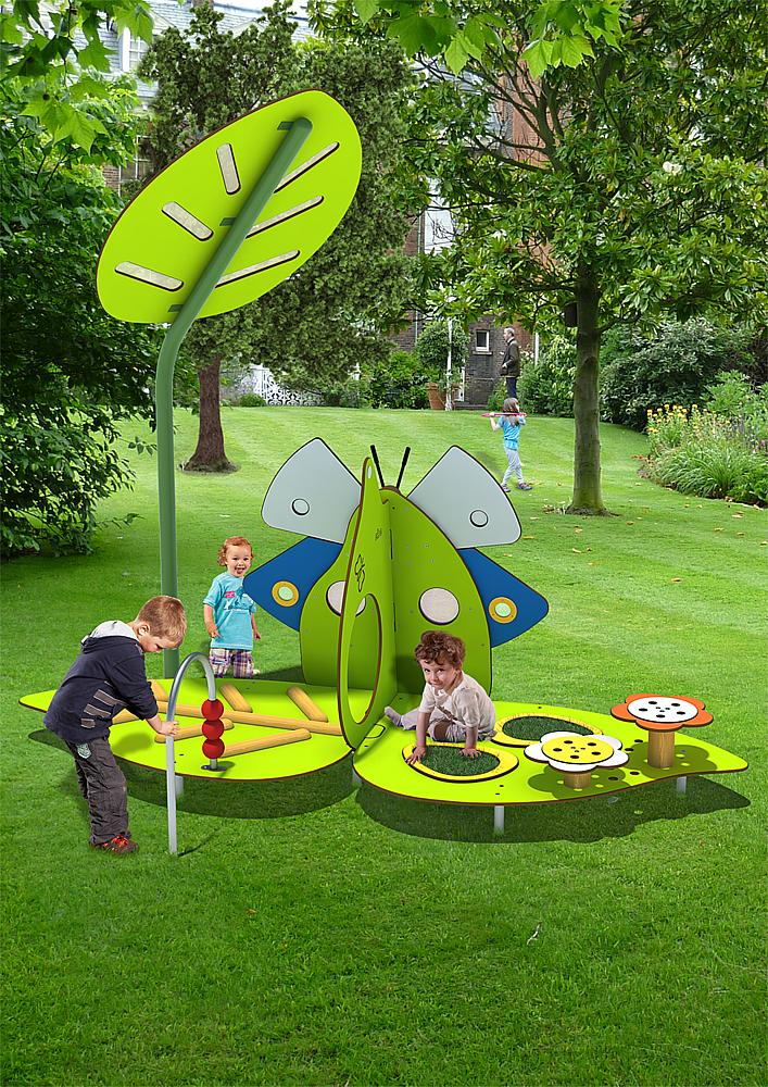 play unit Butterfly