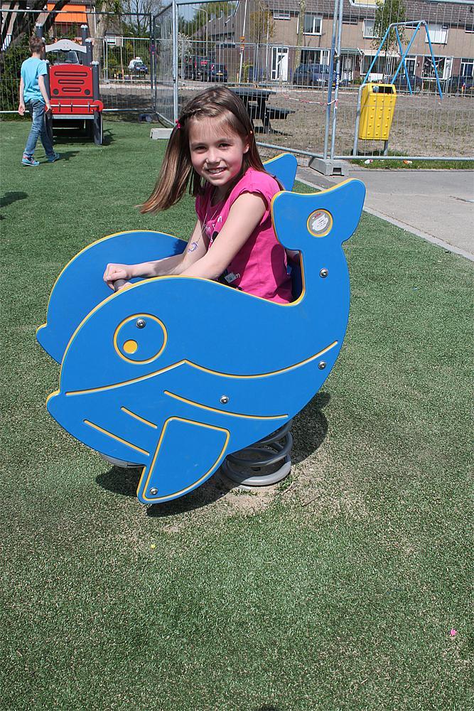 Spring rocker Whale
