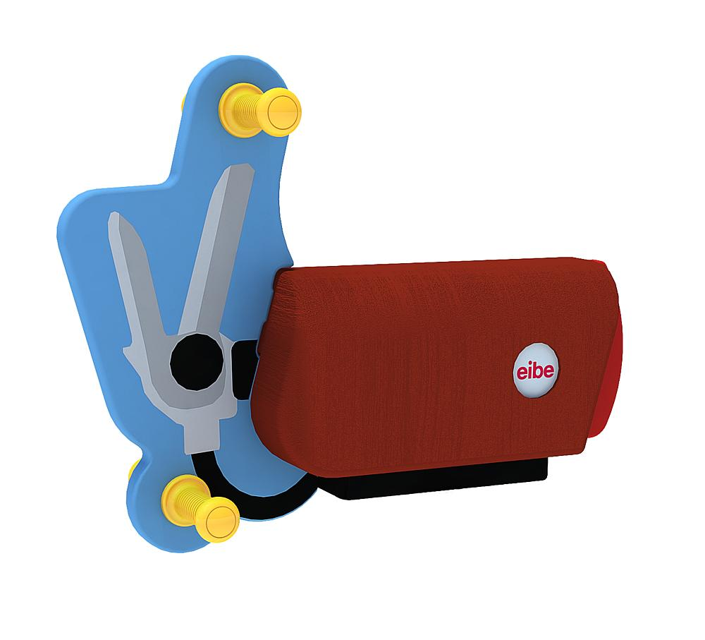 Spring rocker body Rattle Box without spring