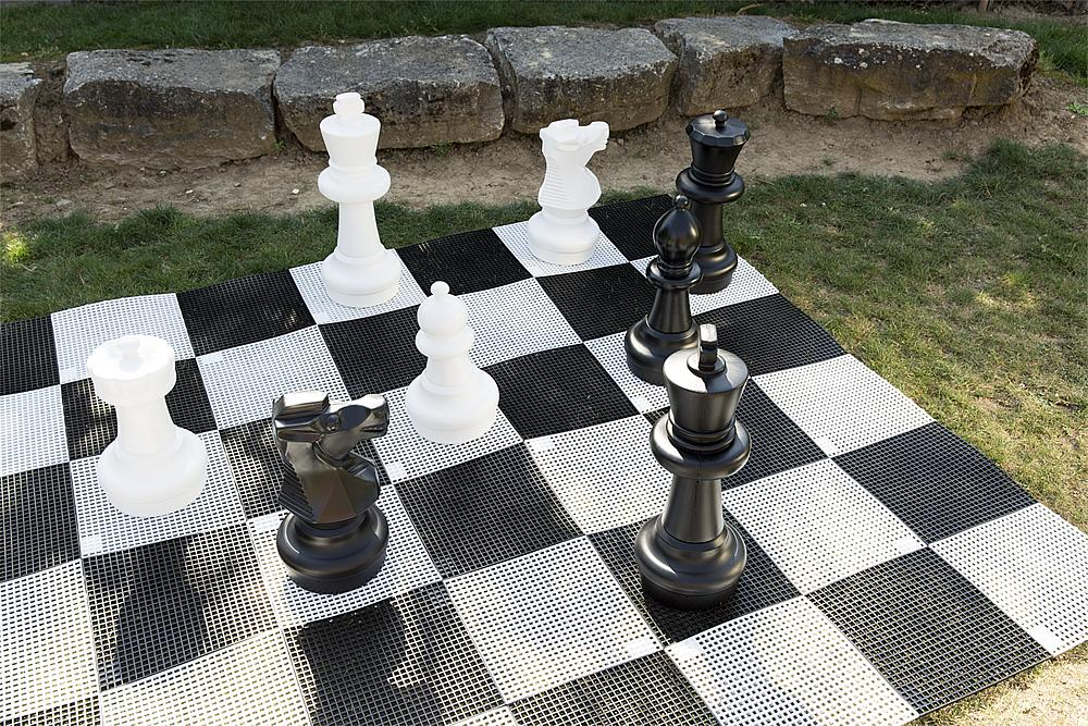 Chess and Drafts Board
