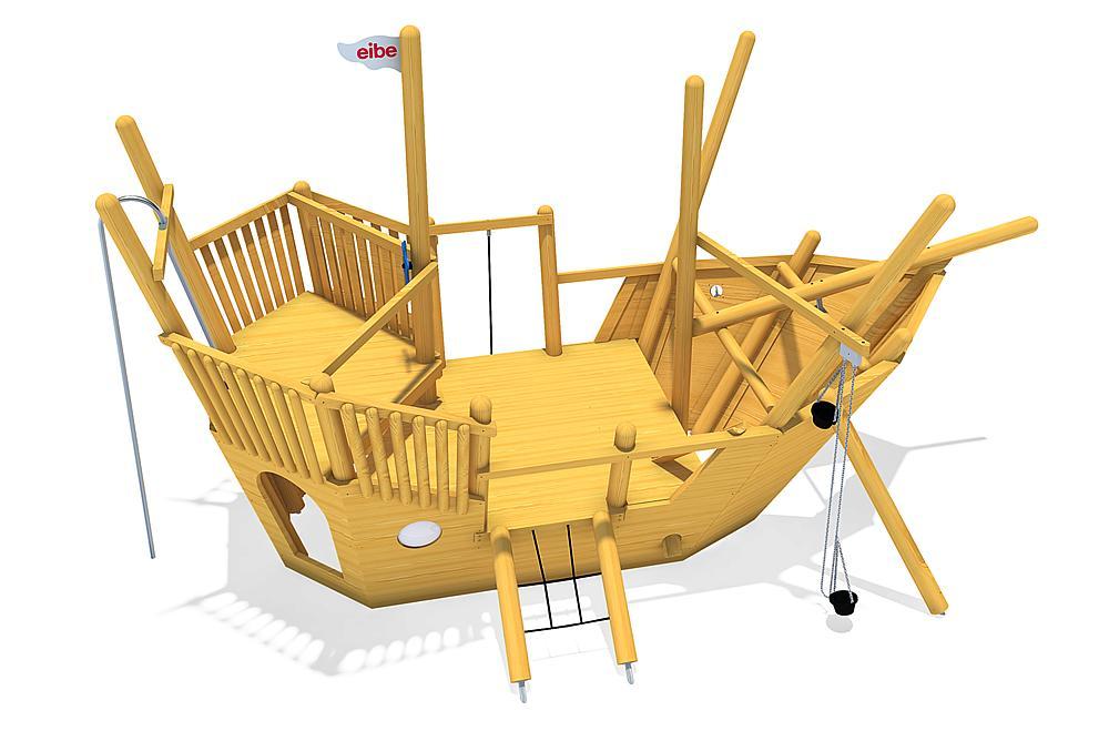 sand play ship Nina