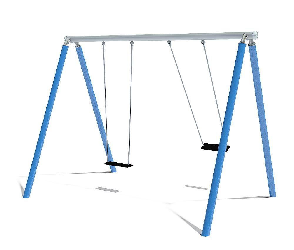 double swing Luna with swing seats