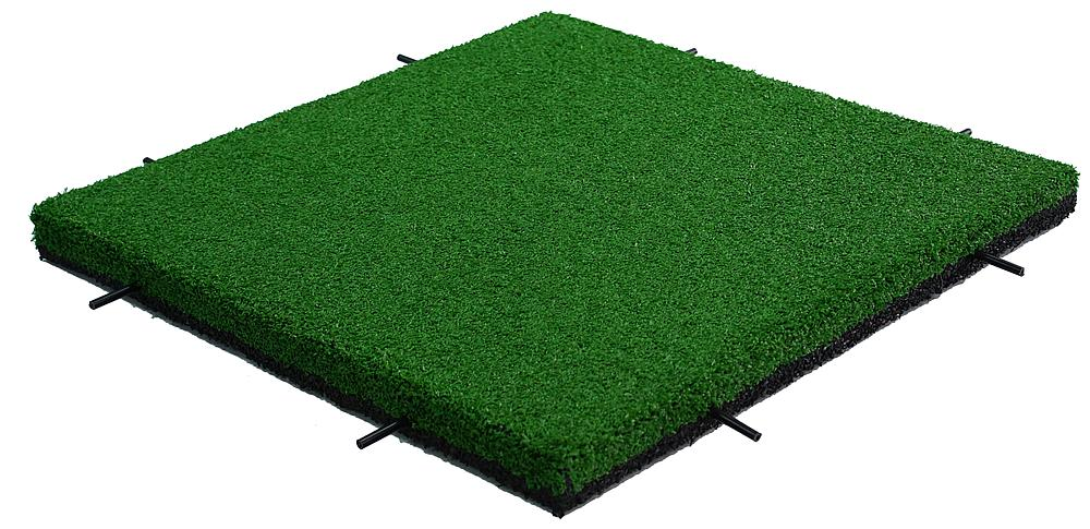 Impact attenuation tile, with astroturf