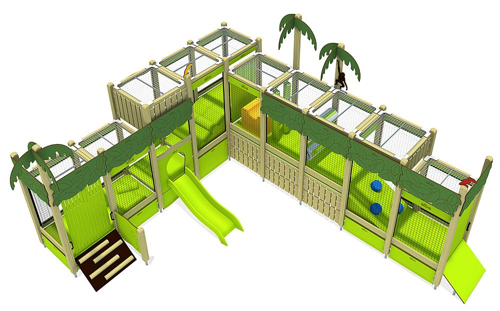 indoor play unit Jungle