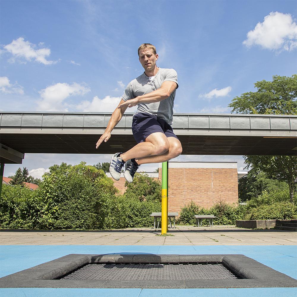 Floor trampoline Kids Tramp playground 200x200 cm