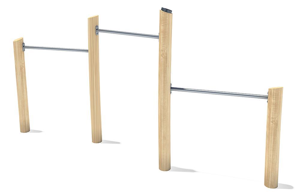 three-level horizontal bar Albin