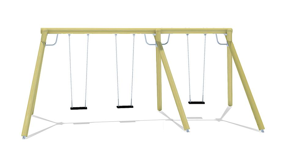triple swing Eagle without swing seats