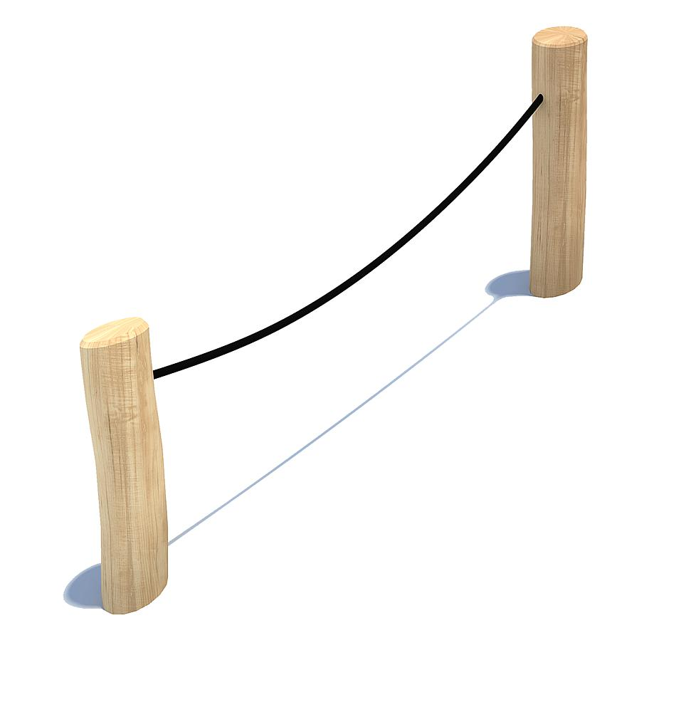 rope railing post Garvin
