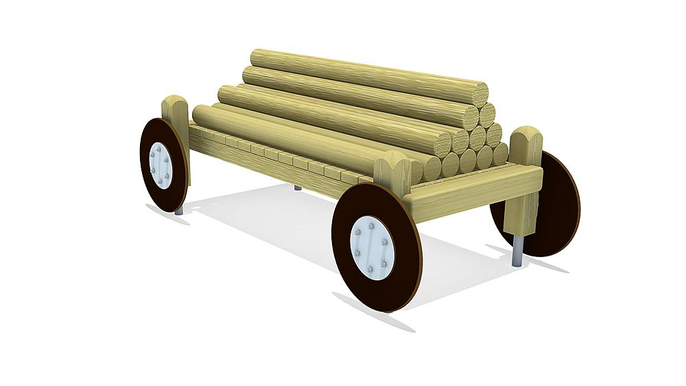 log wagon Ludwig