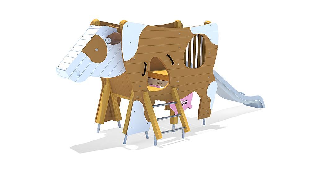 cow slide Erna, solo
