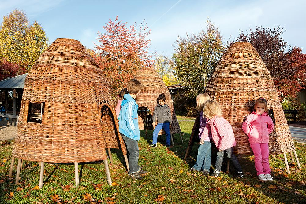 Wicker hut 150