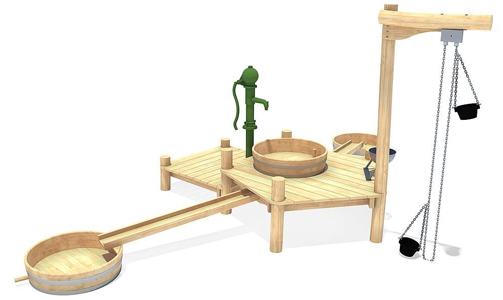 water play unit Arlo
