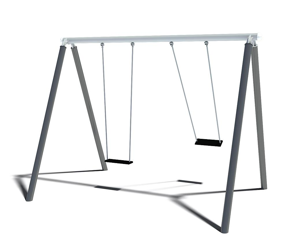 double swing Luna with 360° swing hinge