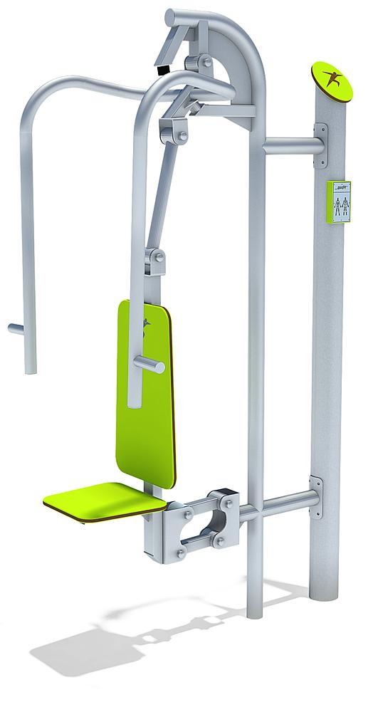 active-station chest press