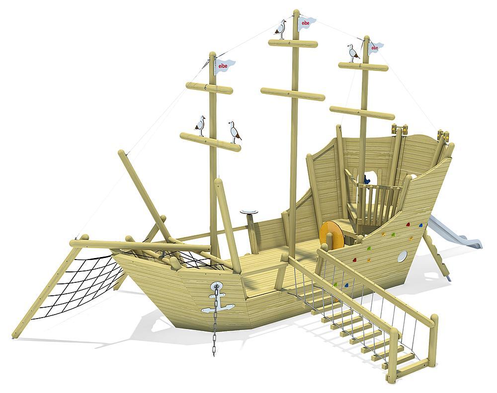 playing ship Santa Maria, solo