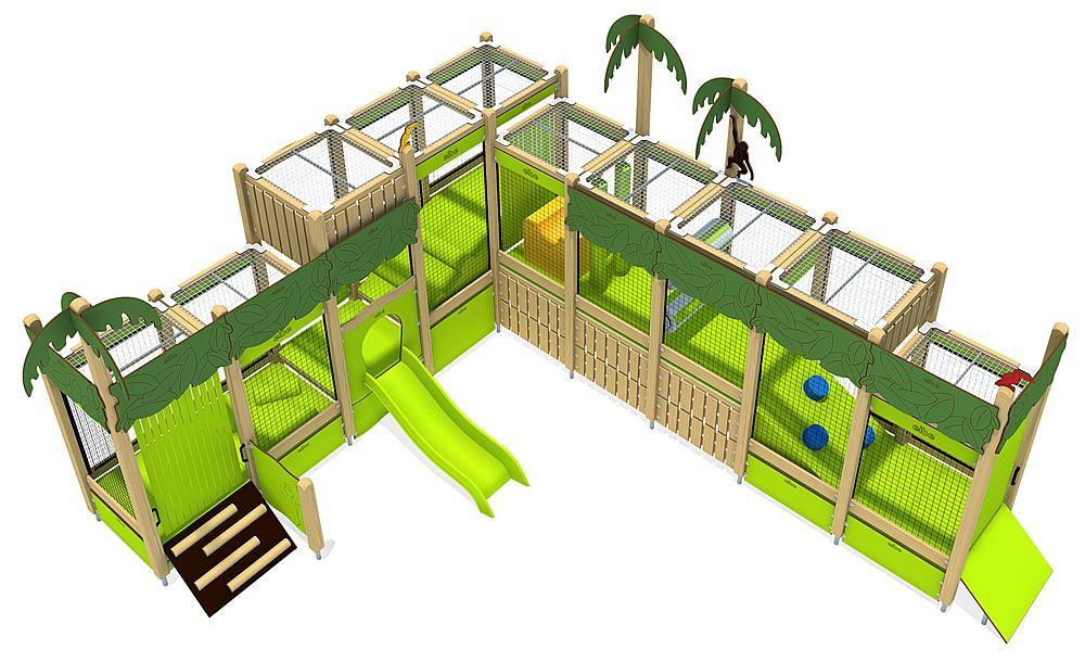 indoor play unit Jungle