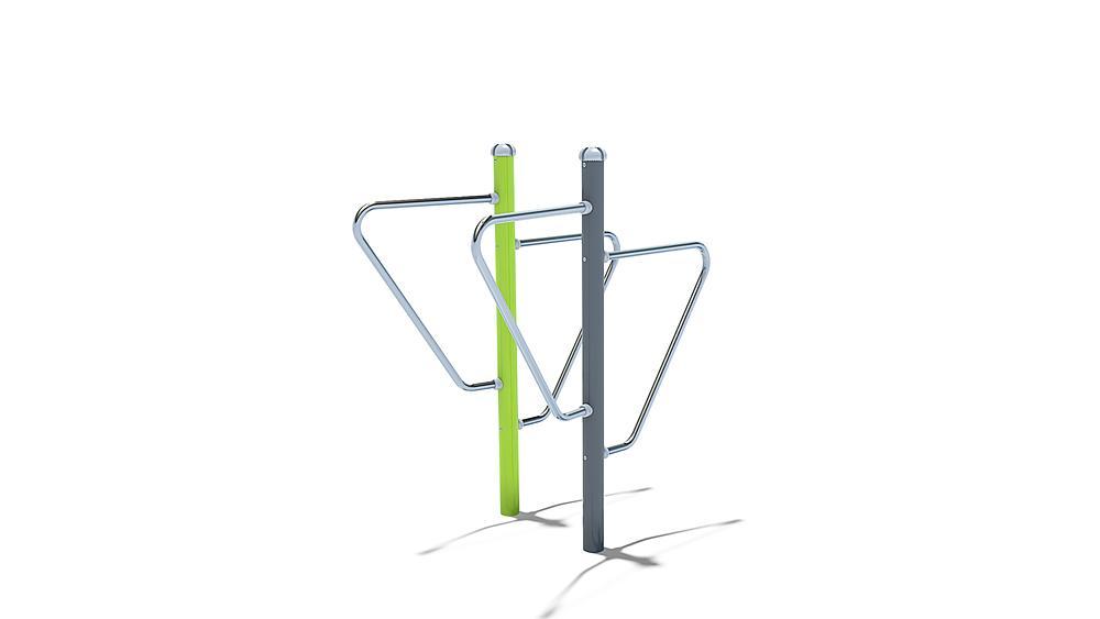 BodyWeightStation barbell rack / dip station